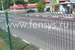 Забор металлический сварной Fensys. Фото 7