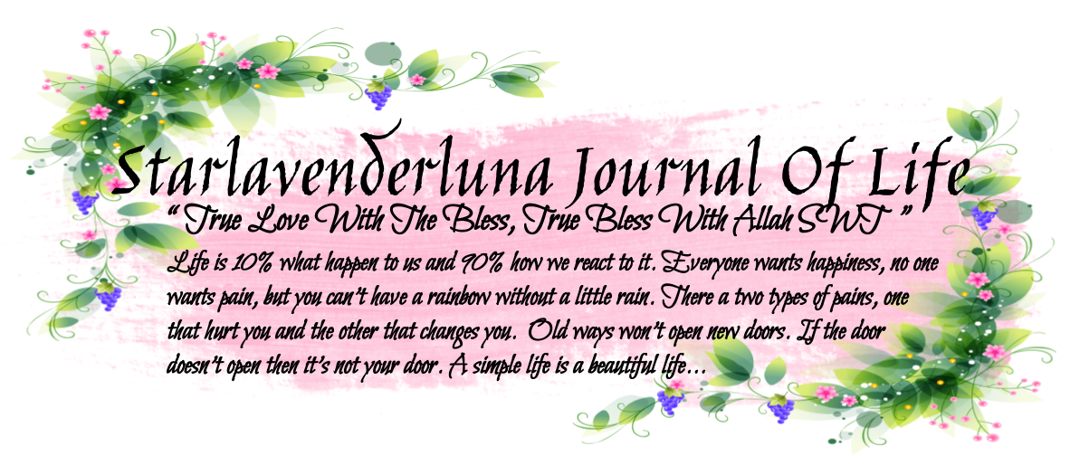 Starlavenderluna's Journal Of Life