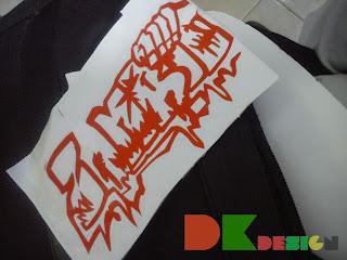 Graffiti Zombie Stiker