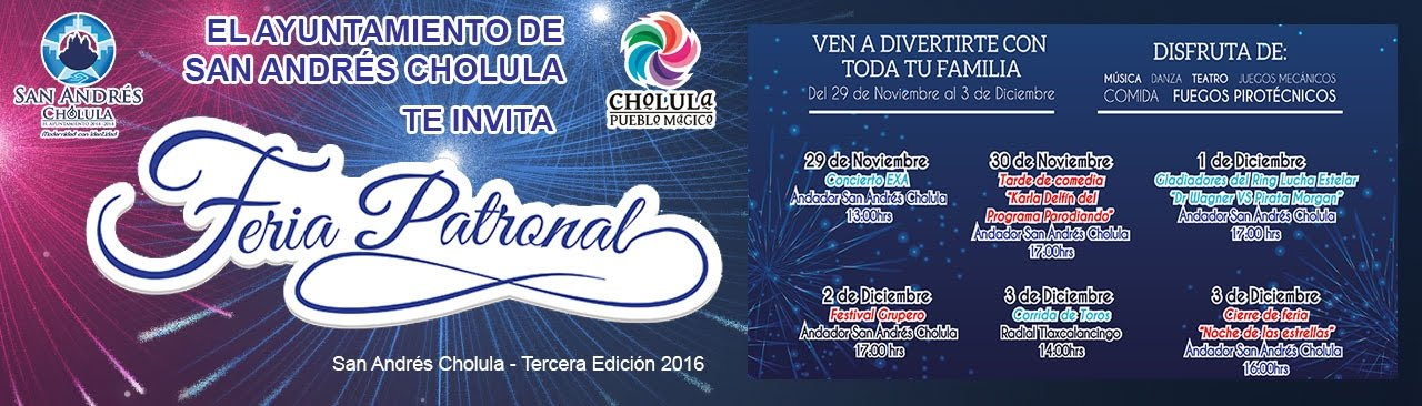 Feria Patronal de San Andrés Cholula