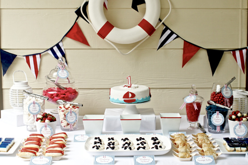 4th of July nautical party ideas