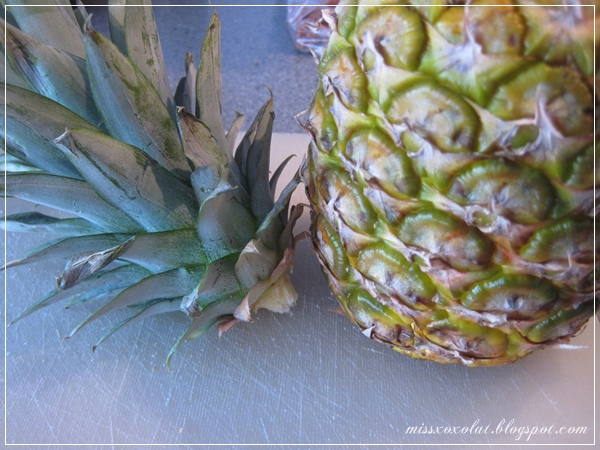 Ananas köpfen