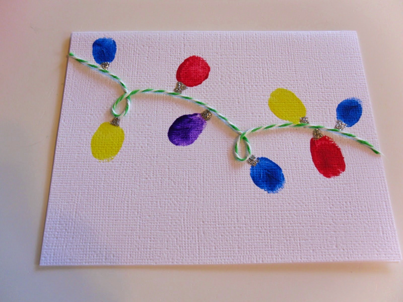 Easy and simple card art for kids art craft projects for Craft supplies for card making