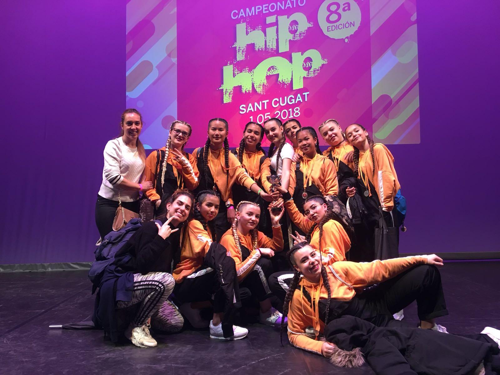 3er.PREMI .HIP HOP. Categoria Junior