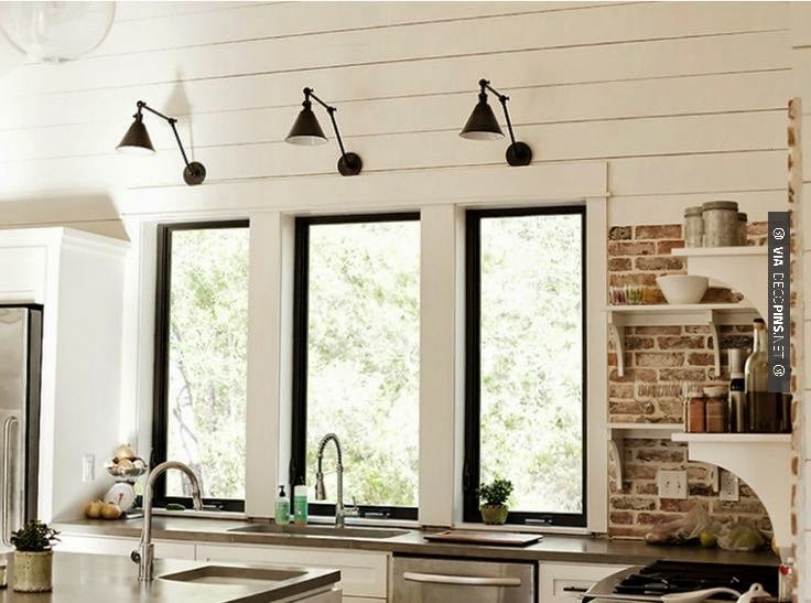Wall Sconces In The Kitchen : The Pink Zipper: Wednesday Wants on Friday - Wall Sconces in the Kitchen