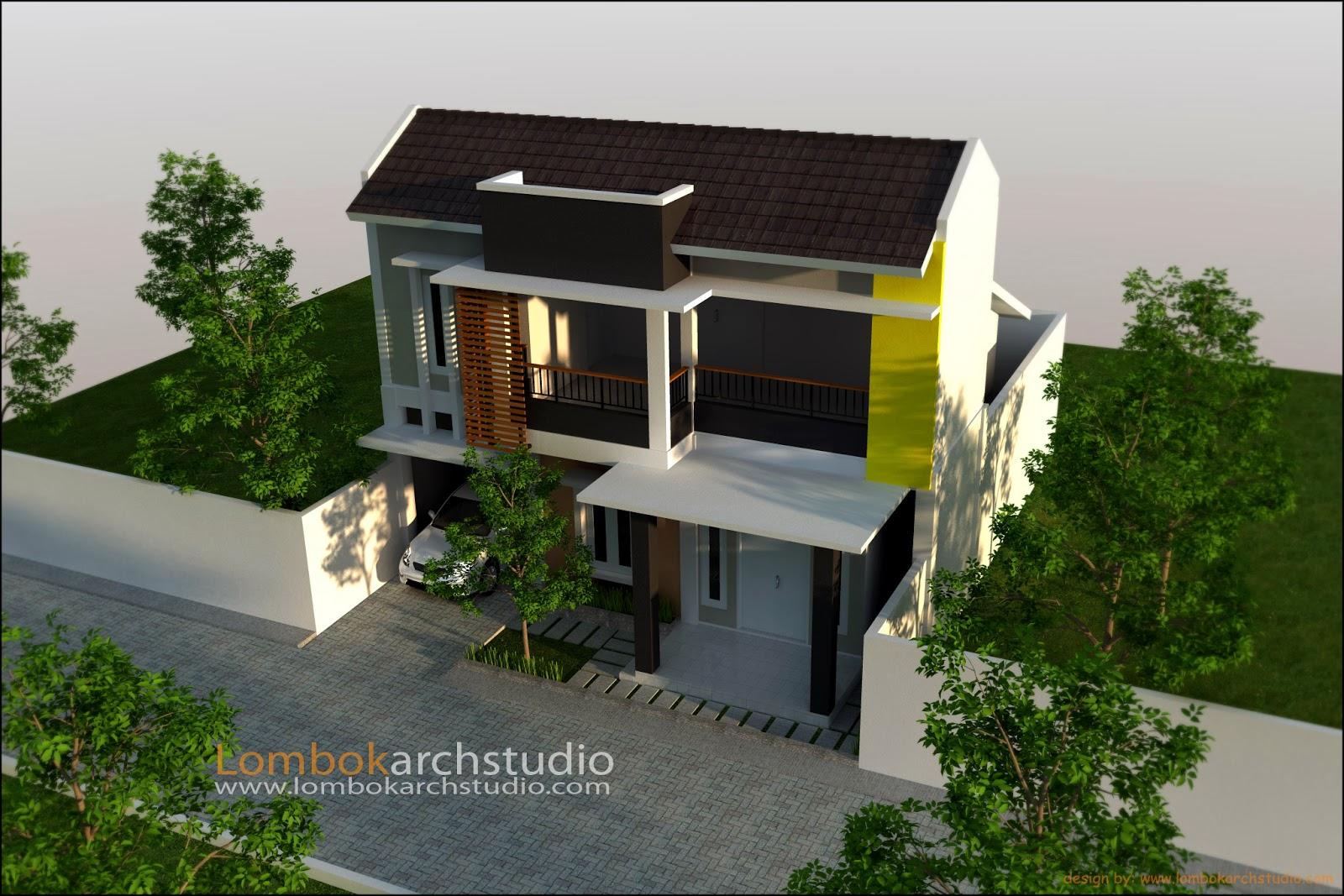 home design interior singapore rumah 2 lantai atap limas