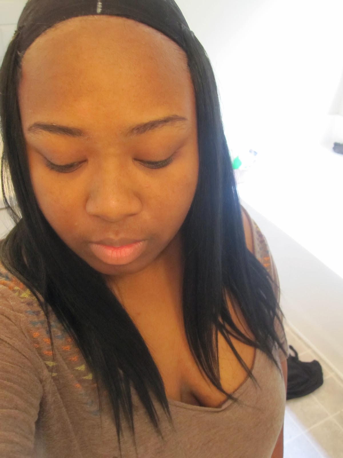 Bad Invisible Part Weave 7)once i had about a pinky's worth of space ...