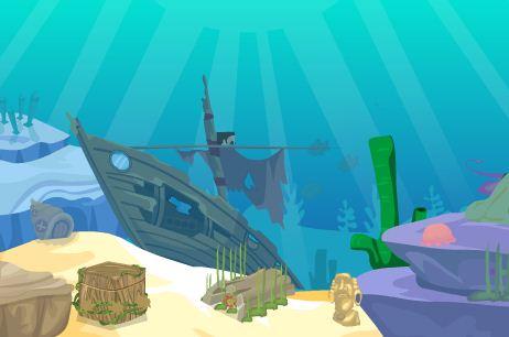 Play TheEscapeGames Ocean Octopus Escape
