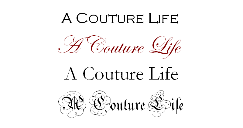 A Couture Life