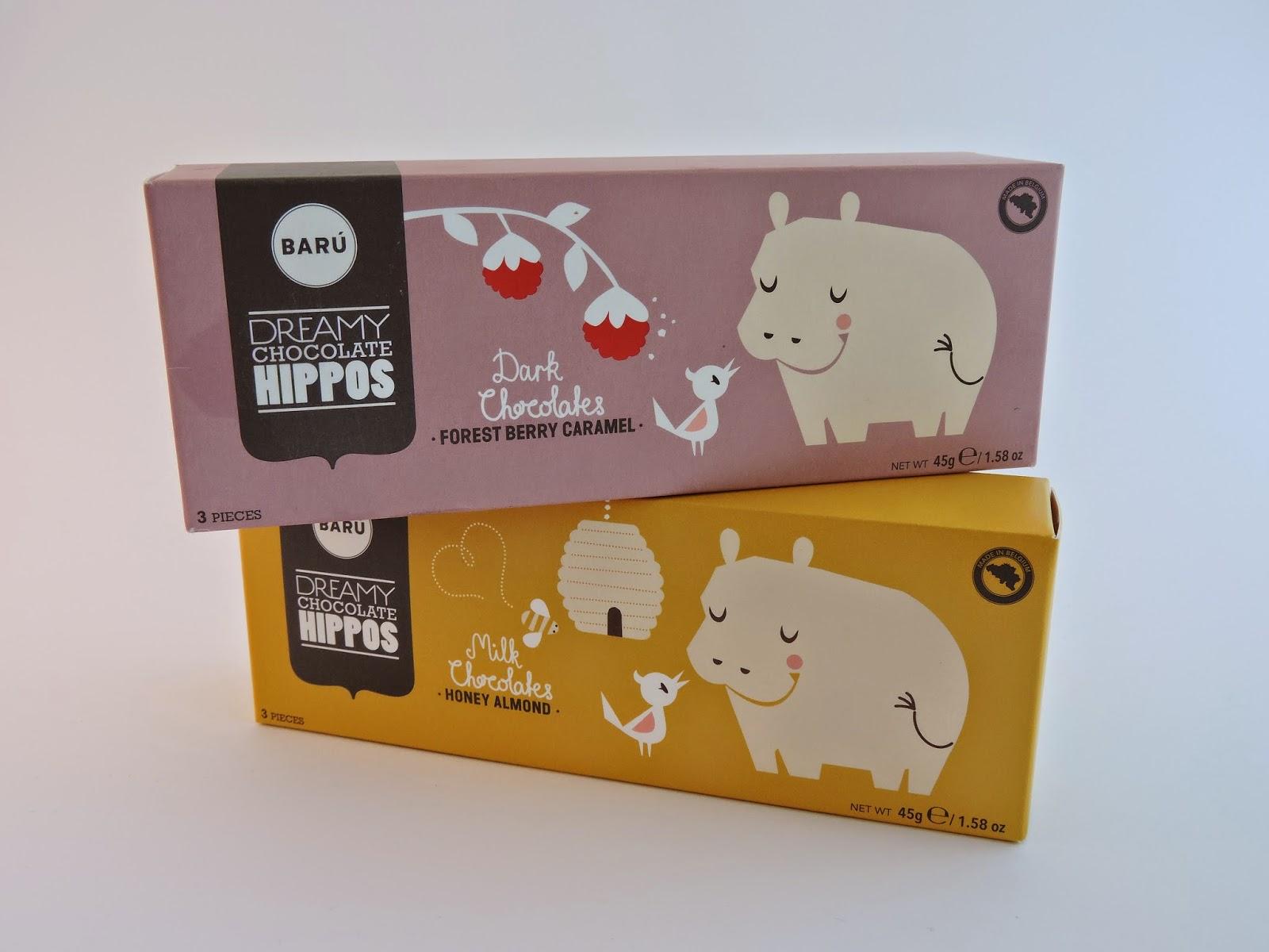 Dreamy chocolate hippos Barú