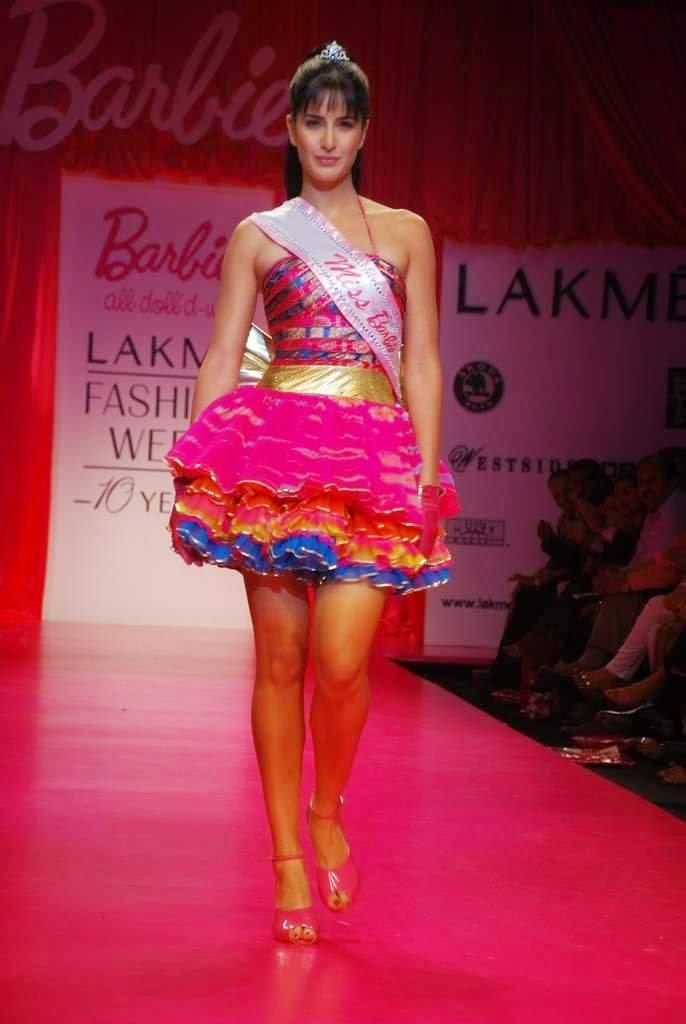 Katrina Kaif walks on the ramp