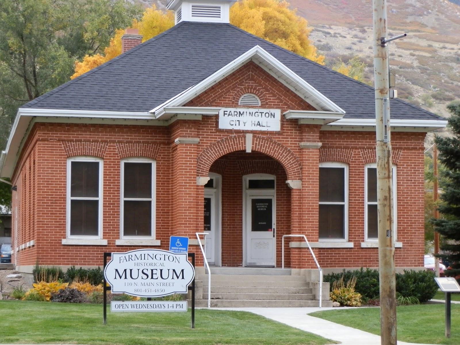 Foyer Museum Utah : Prepared lds family my photo tour of farmington utah