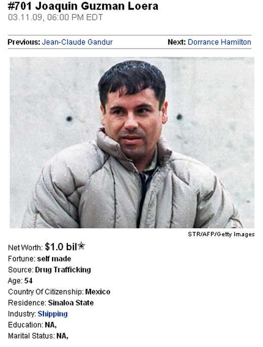Los lujos del Chapo Guzman - Taringa!