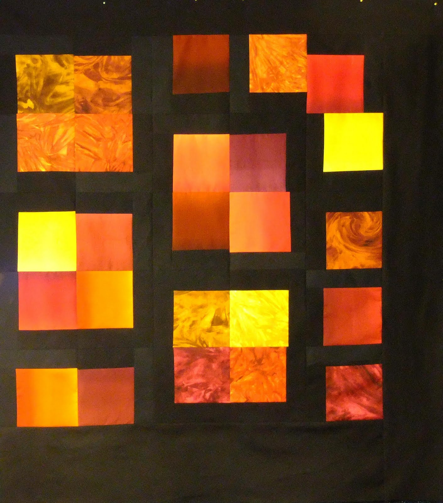 Modern Hand Quilting Patterns : The Free Motion Quilting Project: Trying My Hand at Modern Quilting