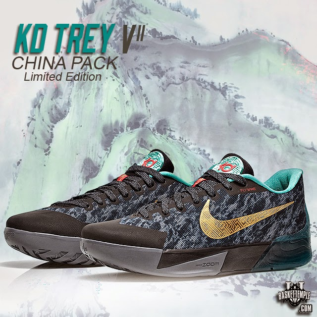 5f0598b87d8c ... the KD Trey 5 II before taking it to his signature sneaker. Featuring a  metallic gold swoosh and near camouflage print on the Wolf Grey upper