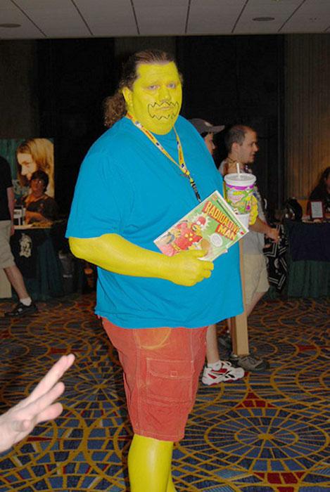 anciano cosplay