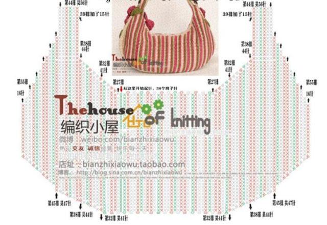 bolsa em croche floral croche com receitas e gráficos