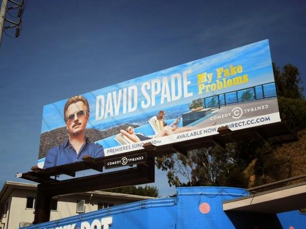 David Spade My Fake Problems comedy special billboard