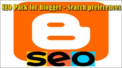 Search Preferences SEO Blogger