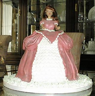 Doll Cake Cake Decorating Rolled Fondant