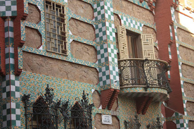 Casa Vicens in Gràcia district