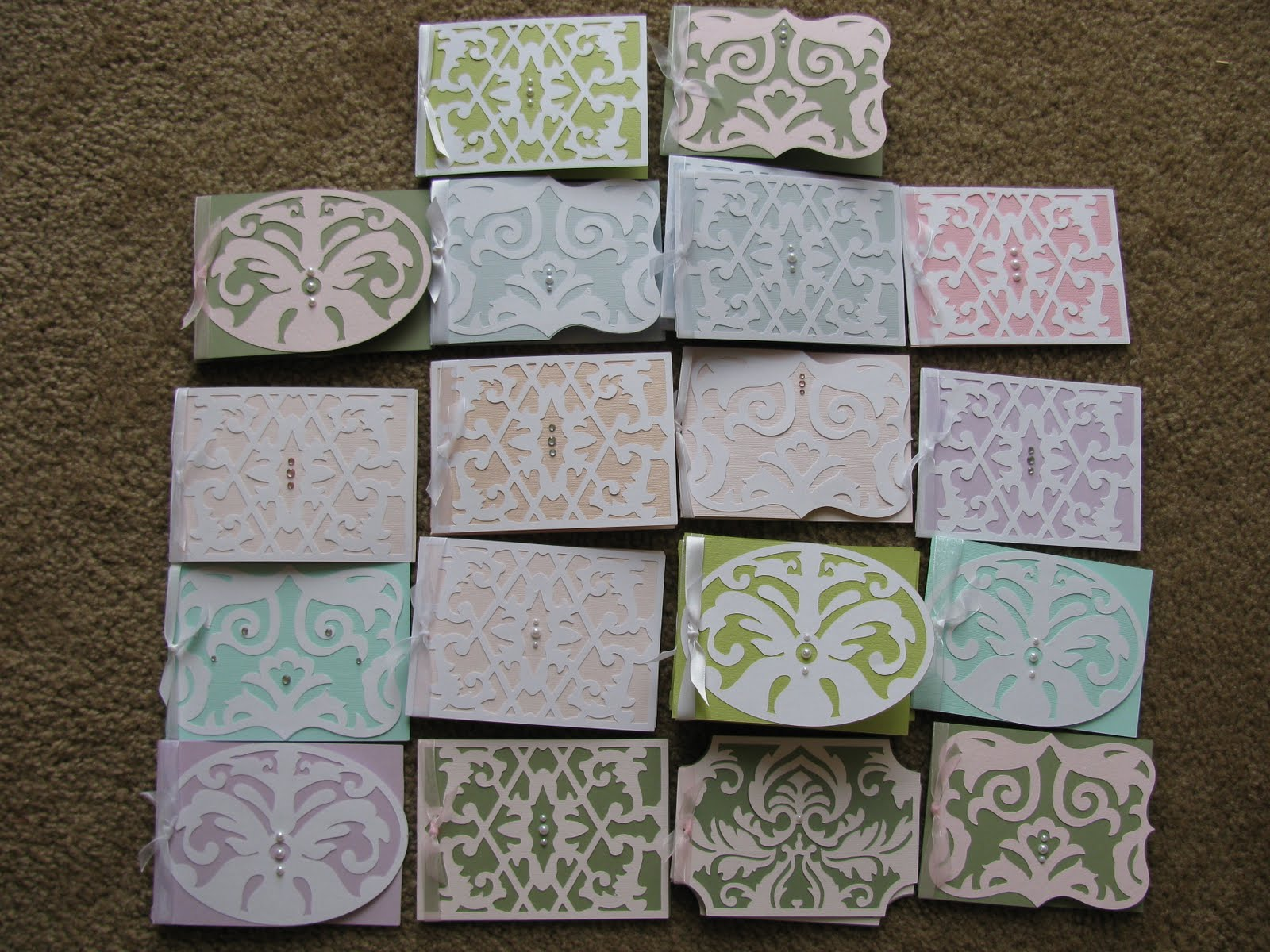 cards made with cricut