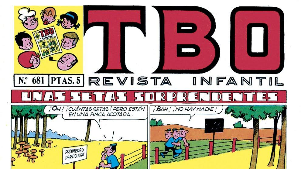 100 AÑOS DE T.B.O.