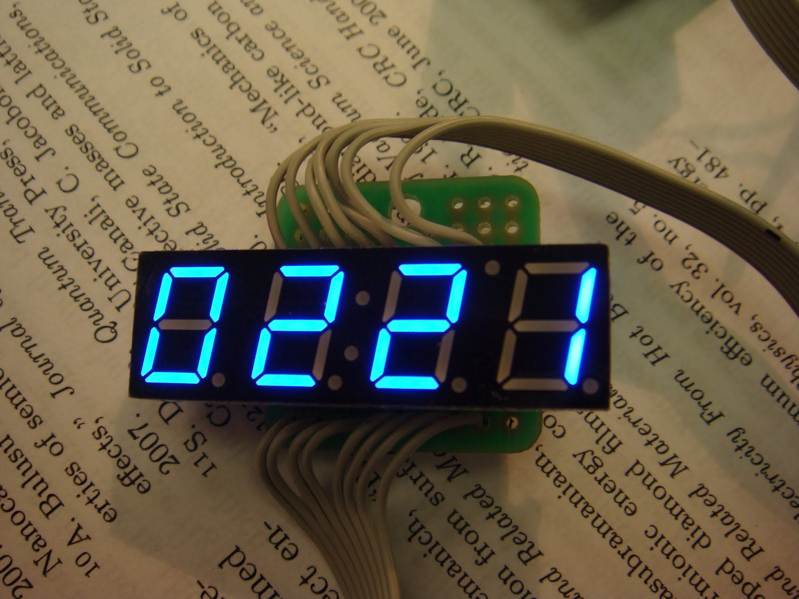 Arduino 4 Digit 7 Segment Display Diffusion Technology Discussion Led