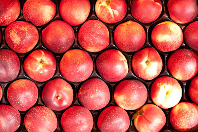Industrial Peaches, Conventional Fruit, Pesticide Residues