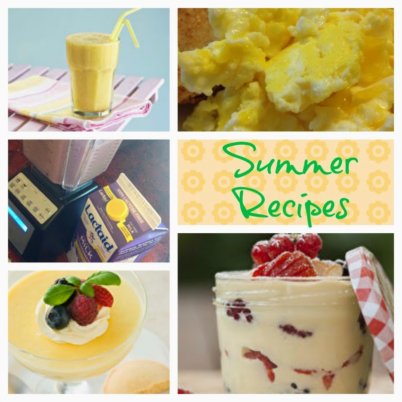 summer dairy recipes
