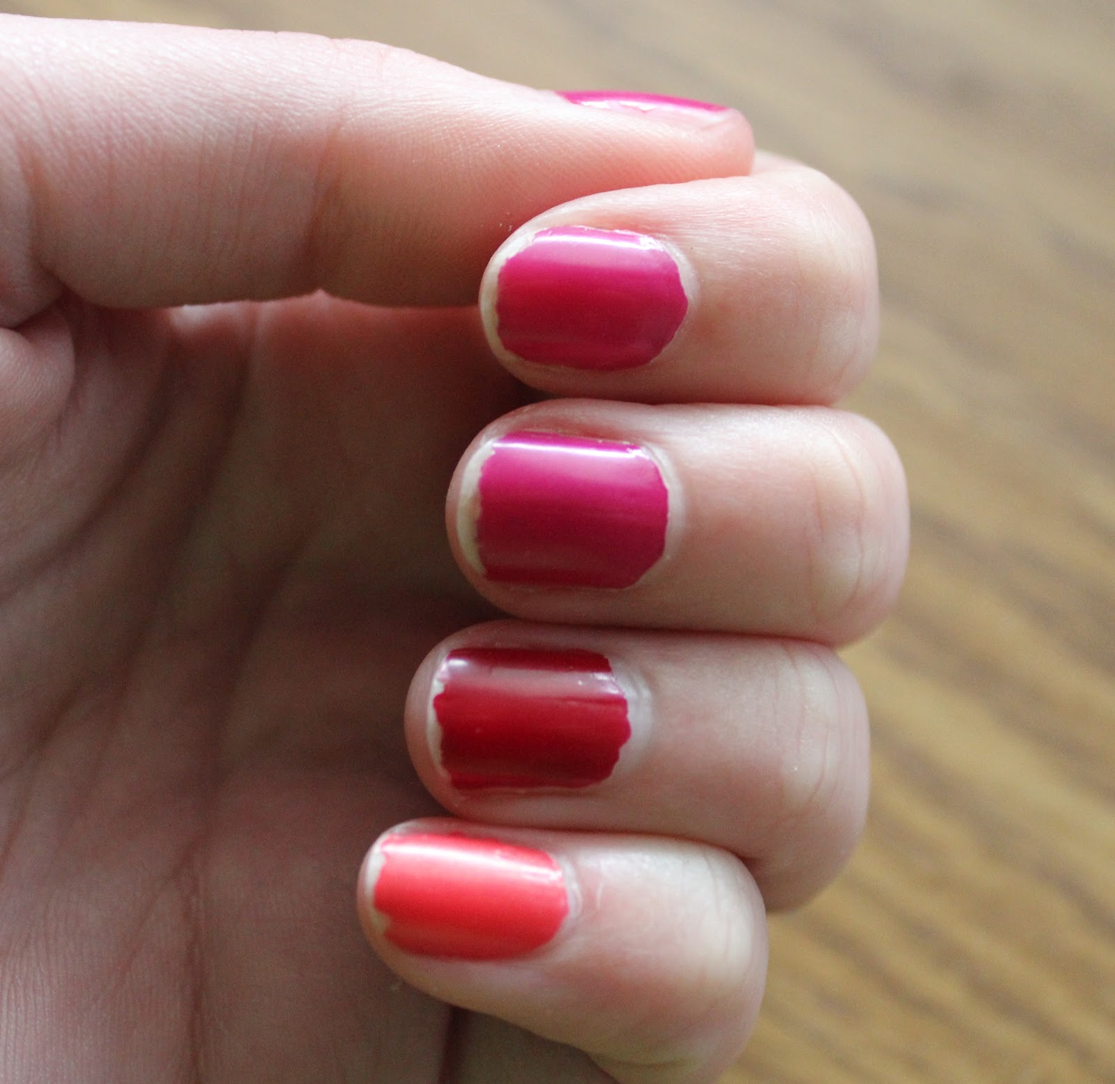 How To Make Nail Polish Not Chip: Bourjois 10 Days No Chips Nail Polish: Shades 16, 19 And