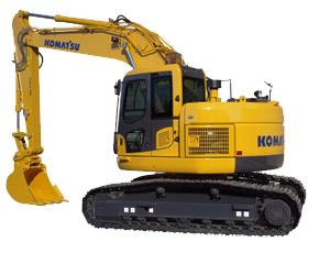 Komatsu Excavators PC228US-8