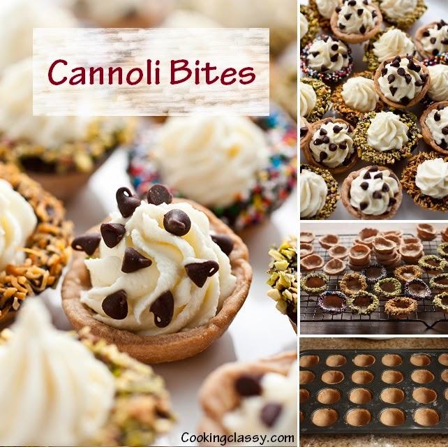 http://www.cookingclassy.com/2013/04/cannoli-bites/