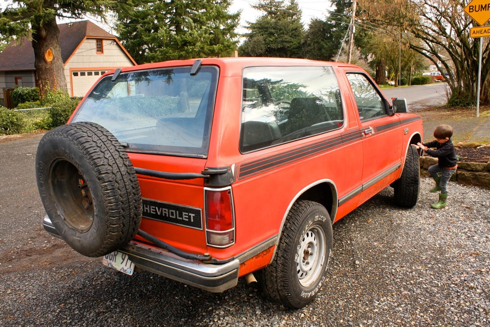 1984 Chevrolet S10 Blazer