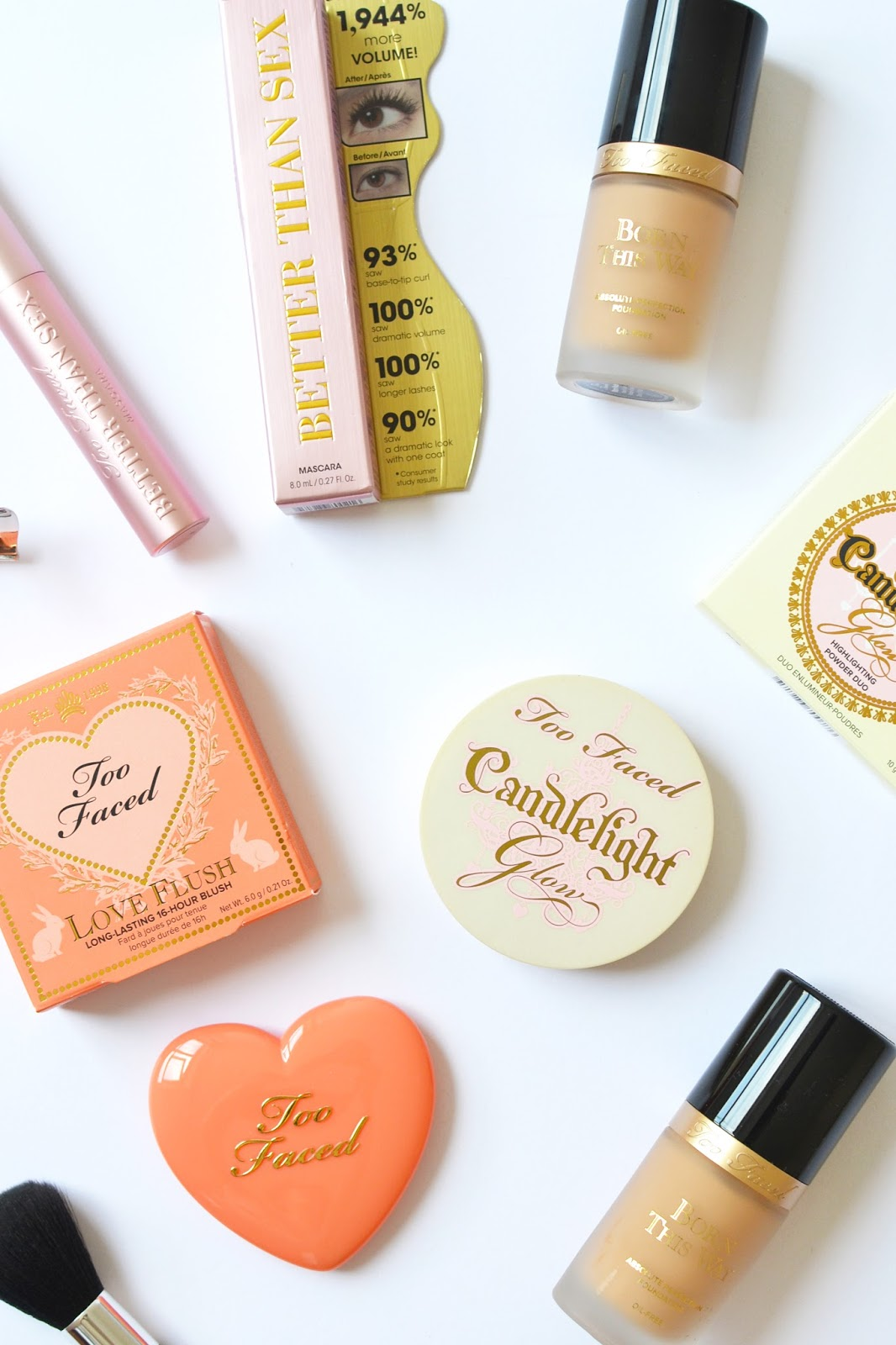 the best of too faced cosmetics