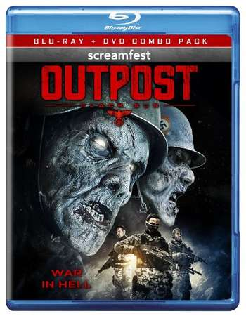 Poster Of Outpost 2008 Dual Audio 300MB   Free Download Watch Online