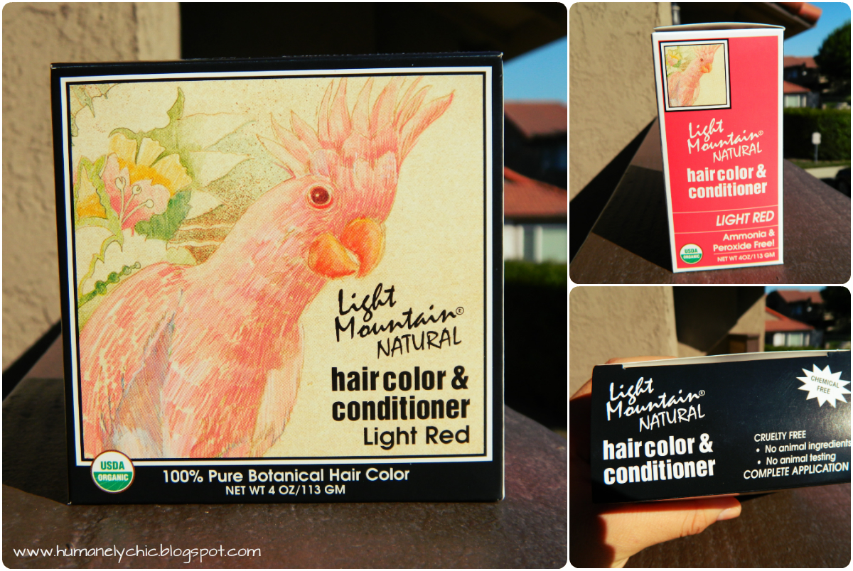 light mountain natural hair color and conditioner review lots of. Black Bedroom Furniture Sets. Home Design Ideas