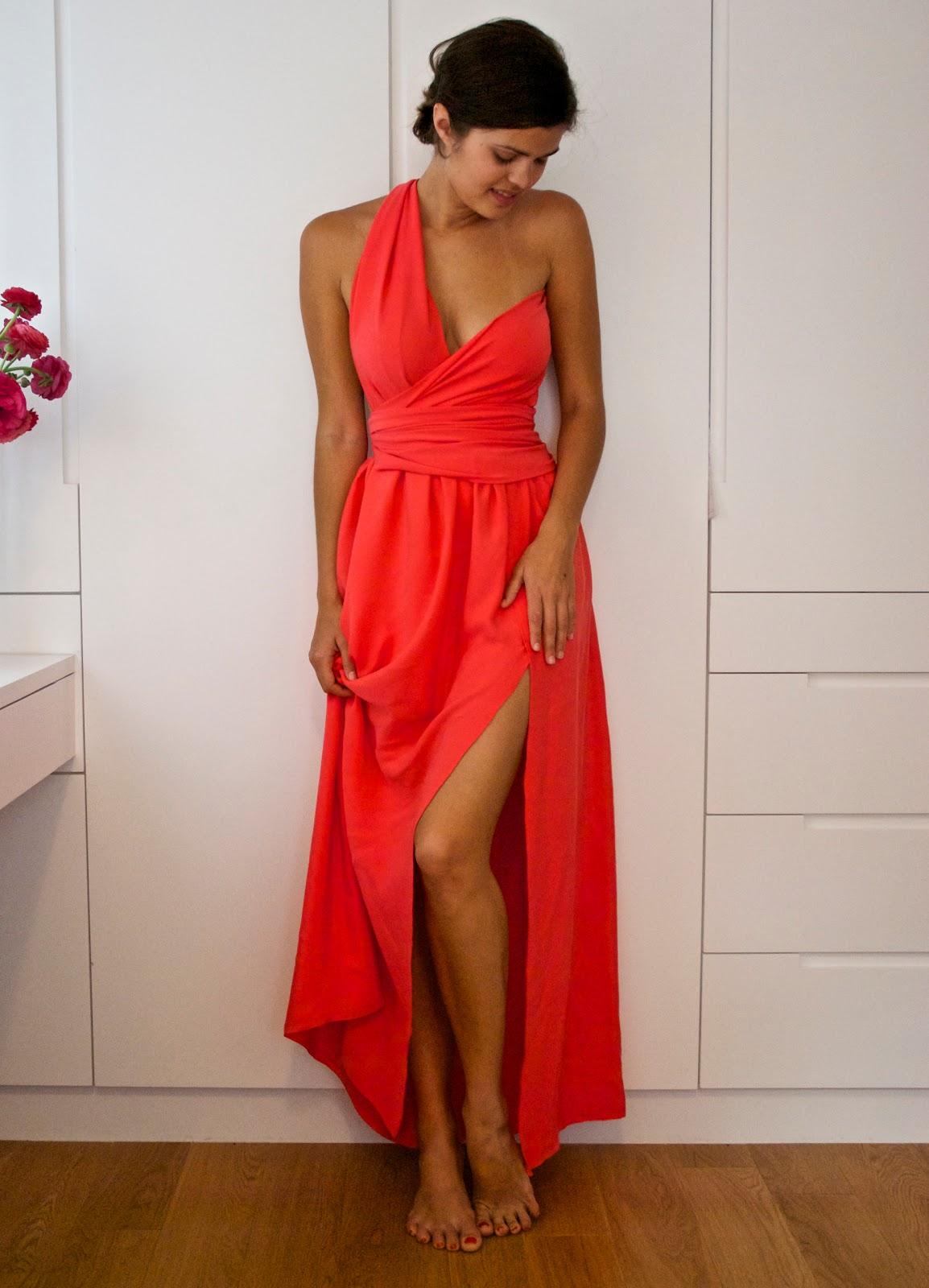Как сшить платье из гипюра и трикотажа Зигзагом. com 74