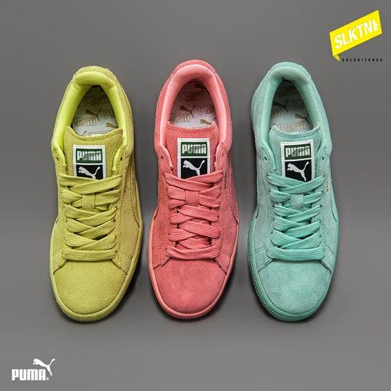 puma suede pastel pack
