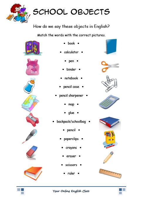 Amado Estágio Supervisionado de Língua Inglesa - 4° ano: Aula: Objetos  FP01