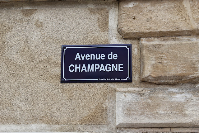Avenue de Champagne, Epernay, France