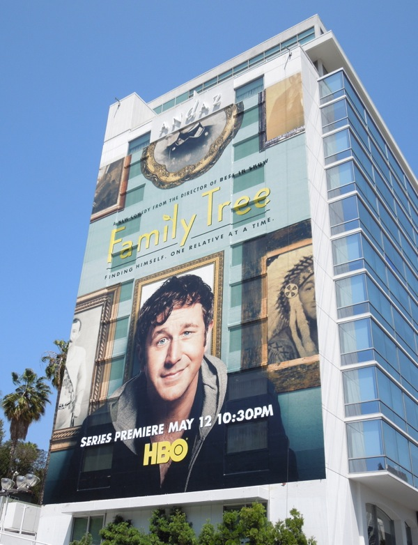 Giant Family Tree HBO billboard