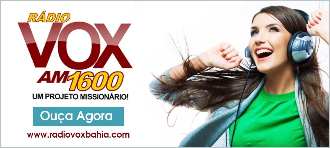 OUÇA A RÁDIO VOX AM 1600