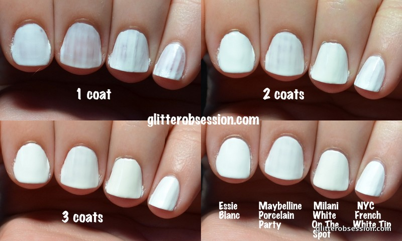 Essie Blanc, Free Shipping at Nail Polish Canada