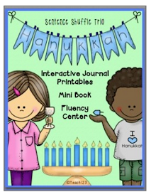 Hanukkah Fluency Center and More!