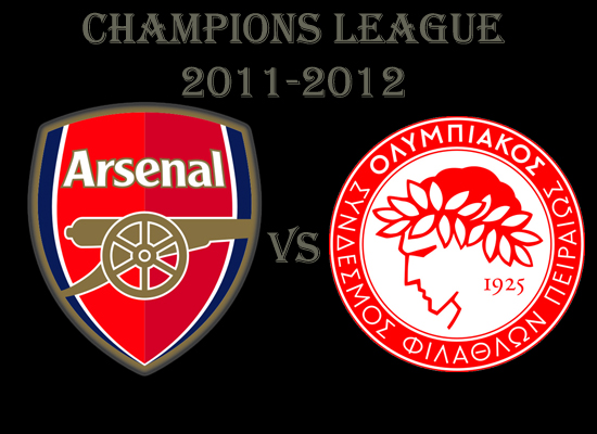 Champions league group stage arsenal vs olympiakos