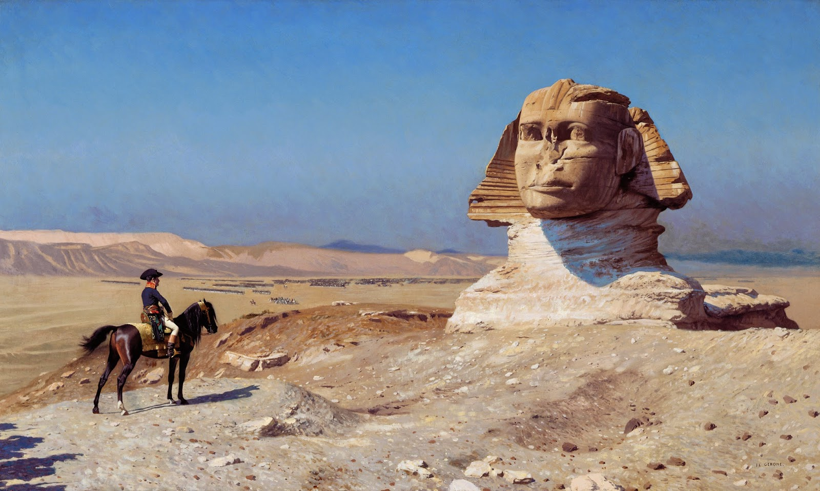 Napoleon at the Sphinx