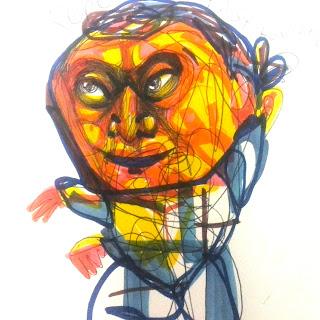 Luis Ricardo, colorful joy mexico, odd, bizarre, surreal, illustration