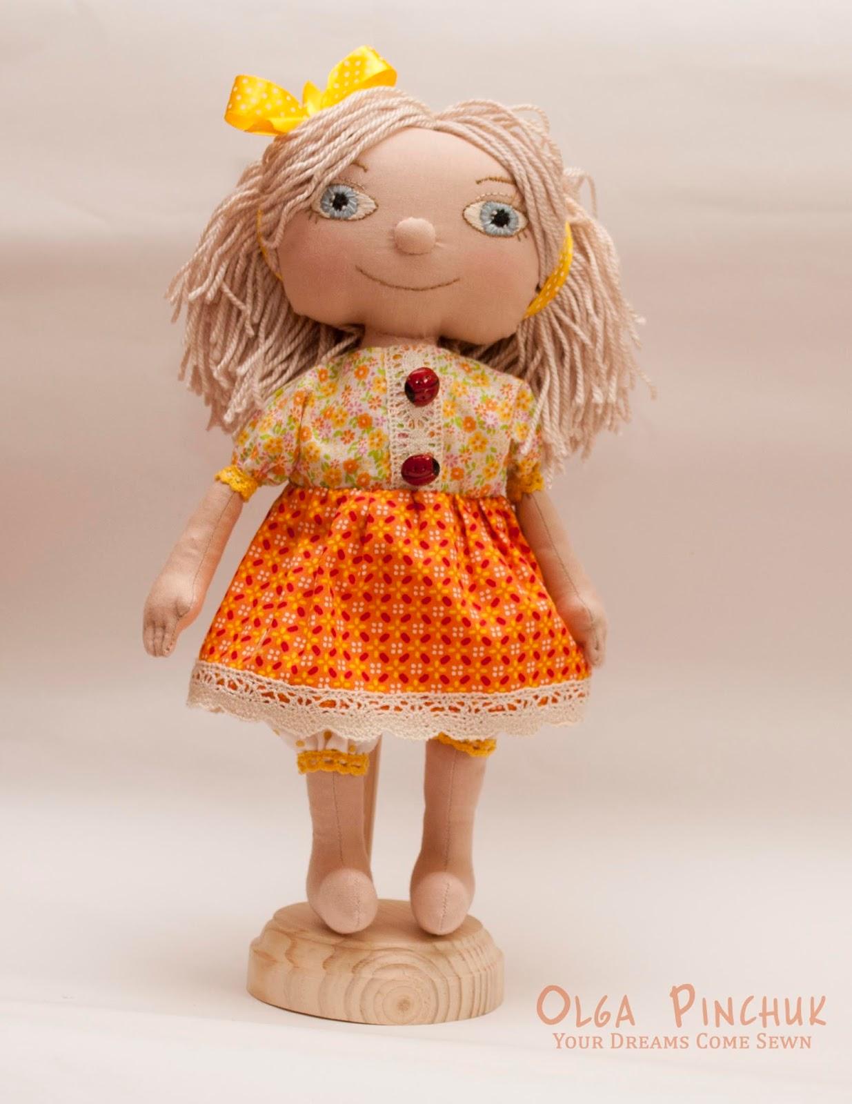 интерьерная кукла, кукла ручной работы, игровая кукла, кукла ребенку, кукла из ткани, текстильная кукла ребенку, экологичная кукла, эко кукла, игрушки ручной работы, игрушки Ольги Пинчук, Ольга Пинчук