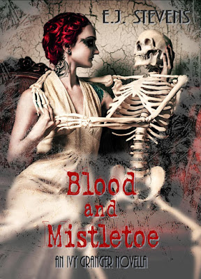 Blood and Mistletoe Ivy Granger urban fantasy novella
